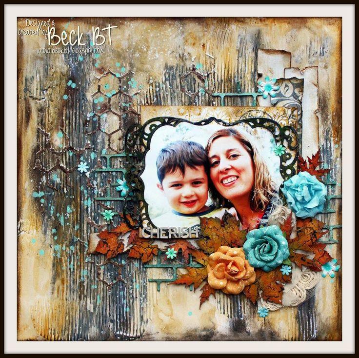 Beck BT www.beckbt.blogspot.com card scrapbook papercraft DIY