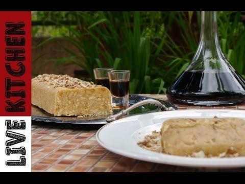 Ο Πιο Εύκολος Λευκός Κορμός με 4 υλικά   White chocolate Biscuit cake   Lιve Kitchen - YouTube
