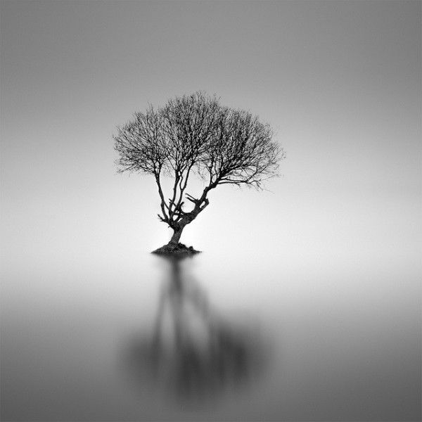 Minimalist black and white photography by darren moore