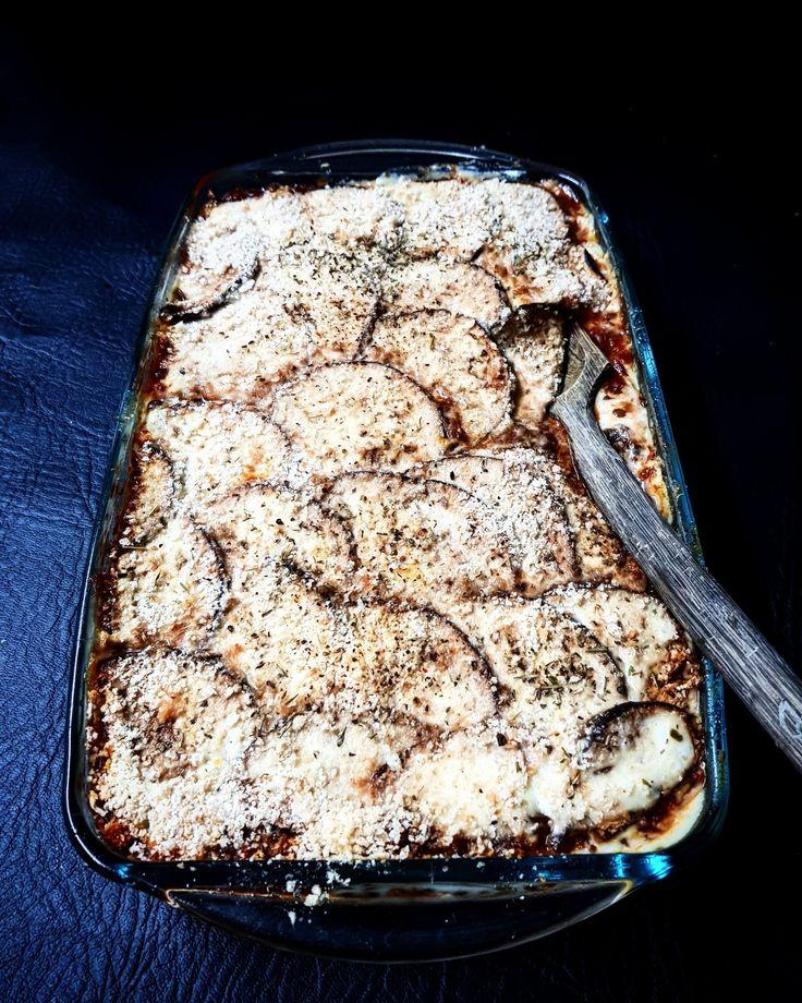 Vegan moussaka from Jack Monroe