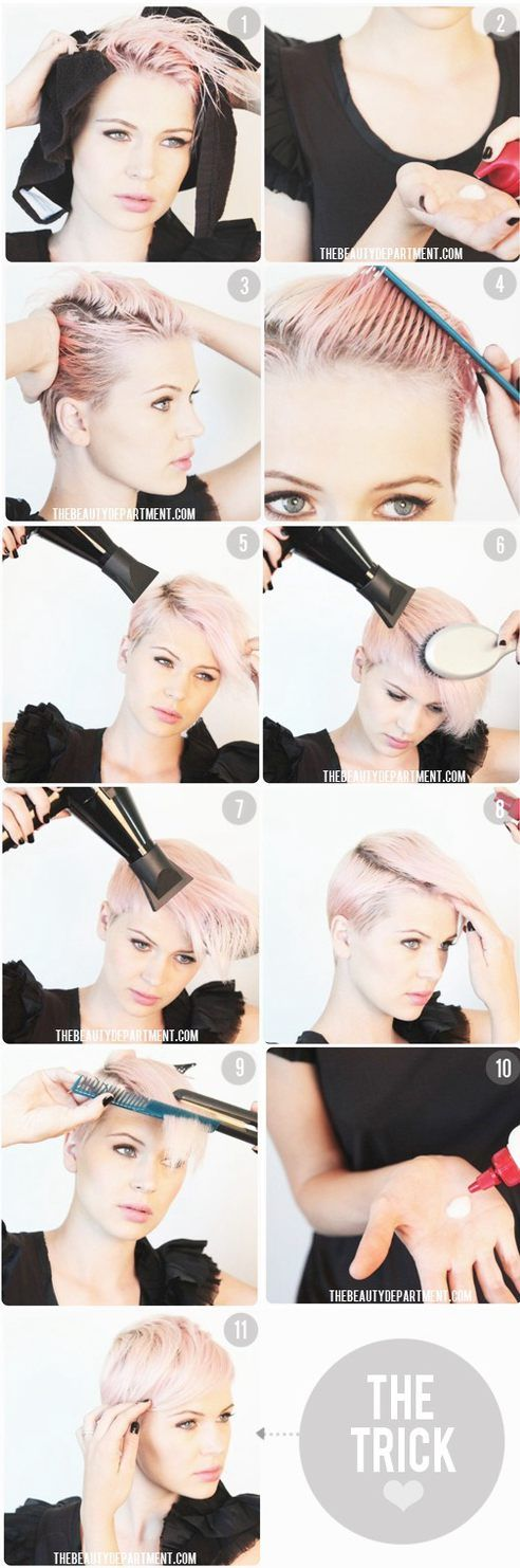 SHORT HAIR STYLE FOR WOMEN 2014
