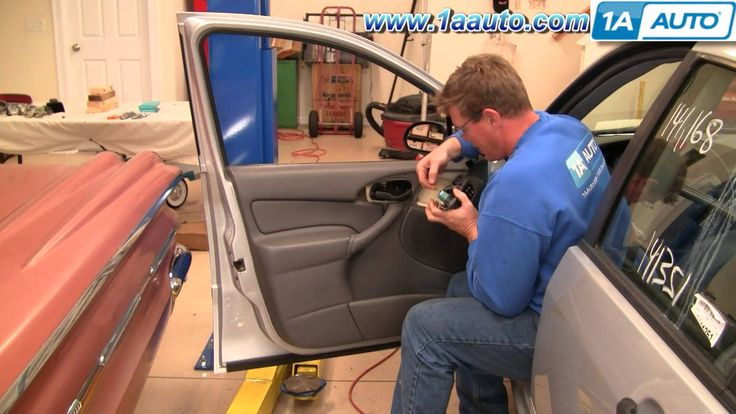 How To Install Replace Remove Front Door Panel Ford Focus