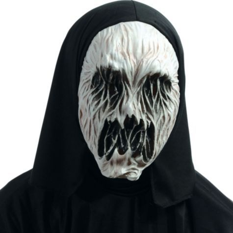 hooded terror spirit mask party city