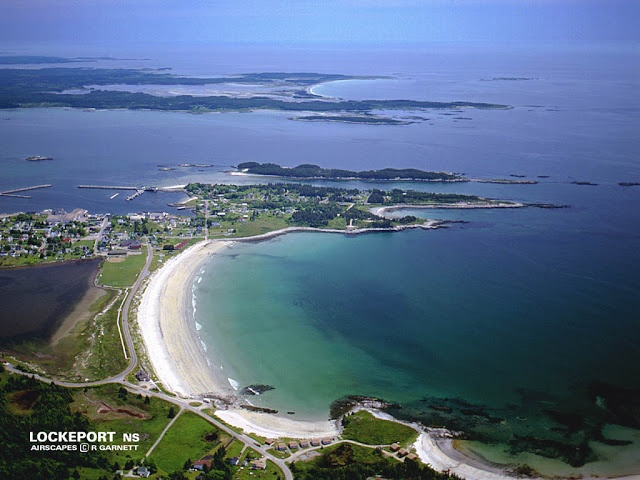 Lockeport, Nova Scotia. This is where I call home! Beautiful waking up and driving by the sand and water everyday