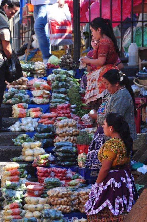 Parte externa do Mercado central da Cidade da Guatemala, capital do país