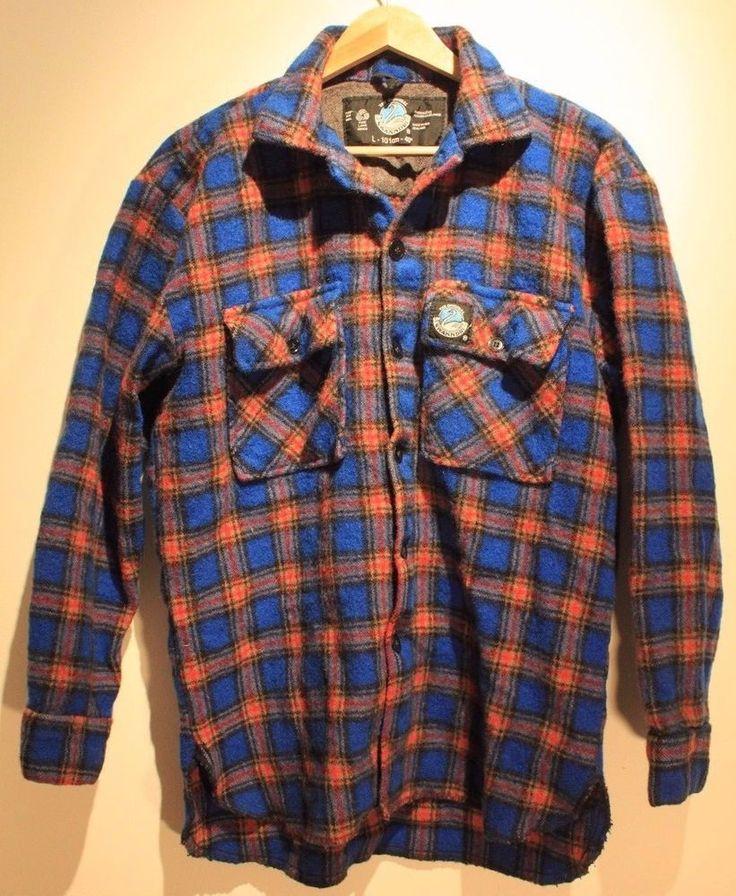 Swanndri NewZealand Pullover Wool Shirt Jacket-large  #Swanndri #ShirtJacket
