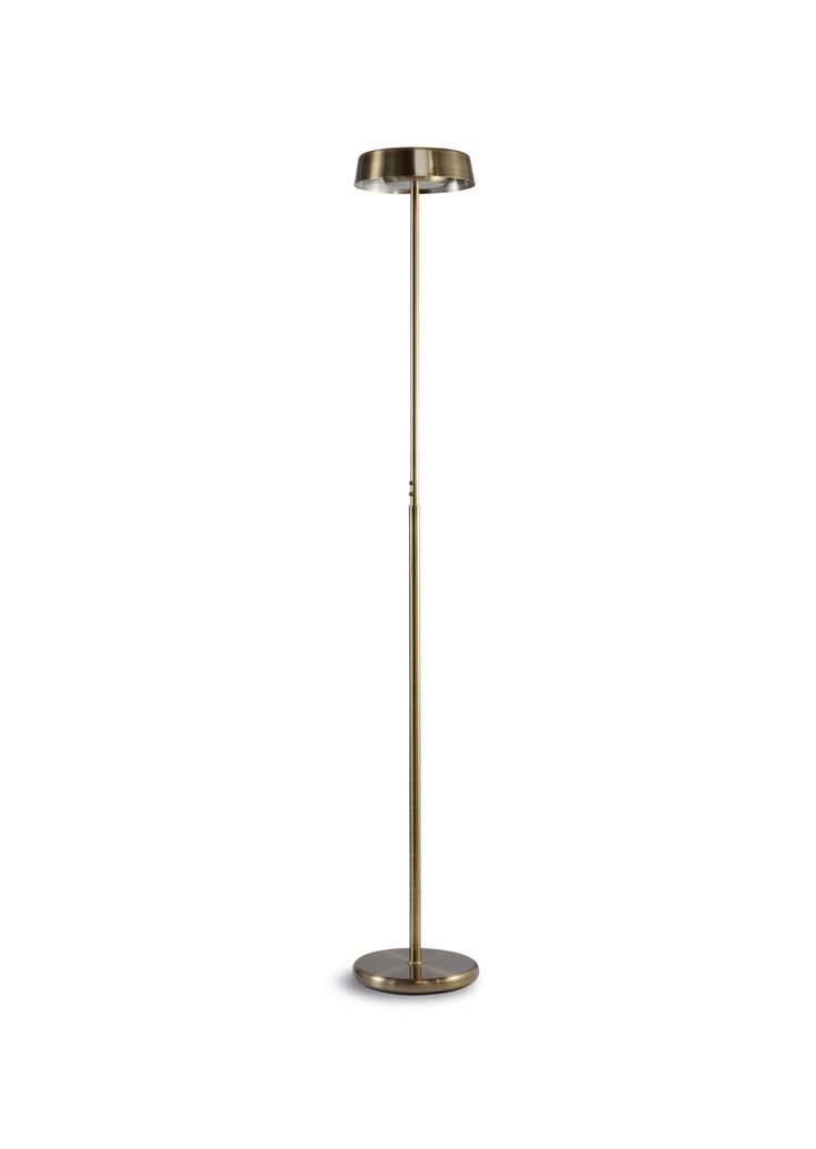 Lámpara de pie cuero NOA - La Casa de la Lámpara