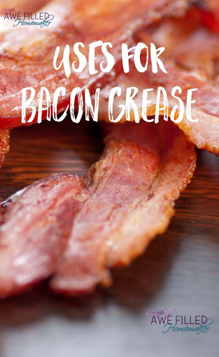 I love bacon. A Lot! So I set out on a quest to think about ways in which bacon grease can be used! I hope you find the suggestions helpful!  via @AFHomemaker