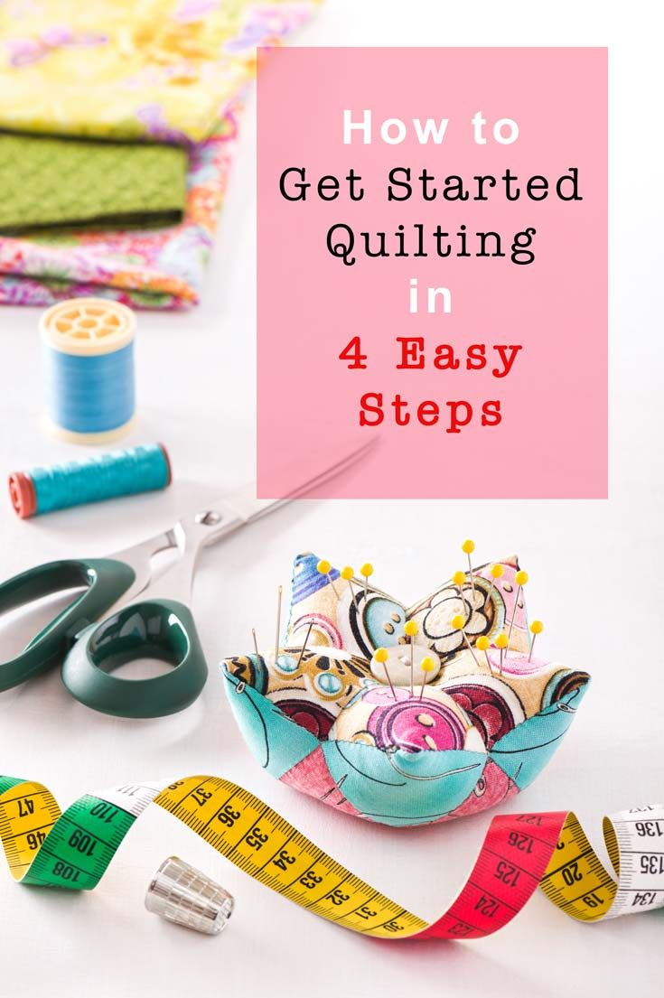 How to get started quilting in 4 Easy Steps with Canada's Online Fabric Store