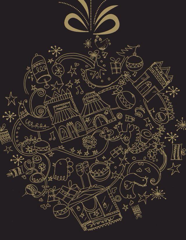 Navidad ilustración margarita Garcés