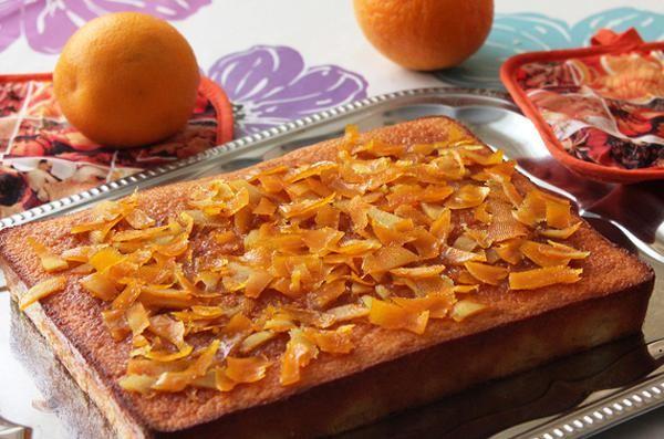 Γρήγορη πορτοκαλόπιτα