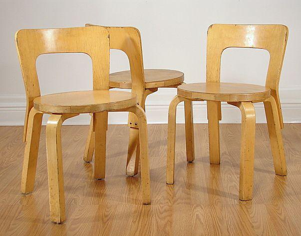 Alvar Alto Children Chairs