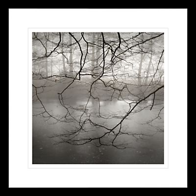 Buy david purdie mist over pond framed print 62 x from our prints range at john lewis
