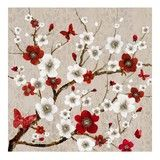 Blossom Tree with Butterflies Canvas