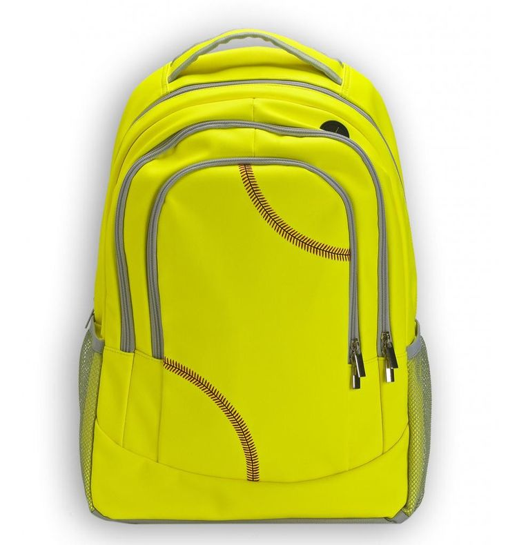 Zumer Sport's patent pending softball backpack is created from actual softball material. The softball material is durable, puncture resistant, and virtually spill proof! If you love softball, use the