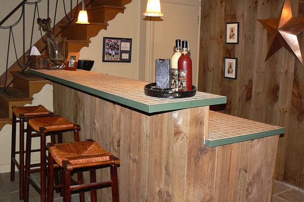 Best 10 small basement bars ideas on pinterest small game rooms industrial basement and - Simple bar designs ...