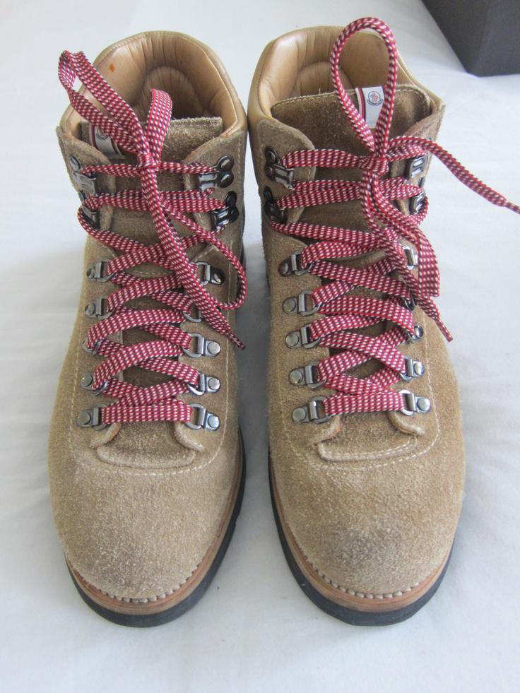 Moncler V + Visvim brused suede Matterhorn boots