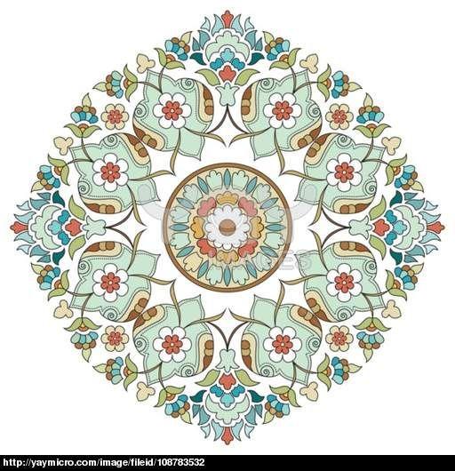 artistic ottoman pattern series two