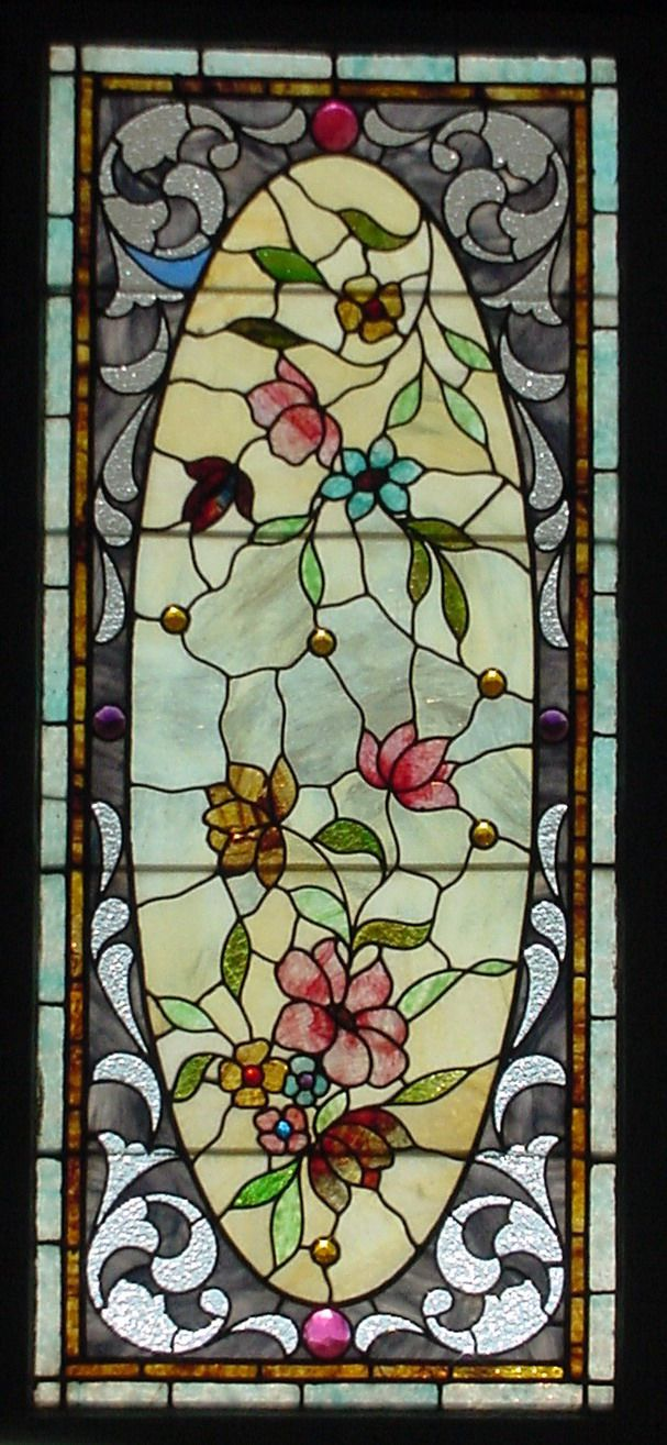 Glass window design - Antique American Stained Glass Windows