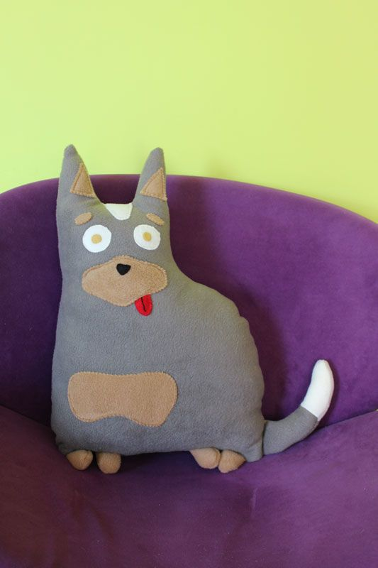 cojin australian cattle dog  | Hecho a mano| Softie Life | Retrato de mascota personalizable