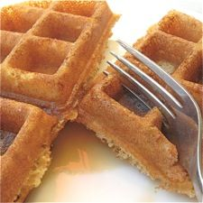 I love this Whole Wheat Waffle recipe that even my picky kids will eat! It definitely needs the OJ, I also like to substitute applesauce for the oil and throw in some shredded carrots for extra fiber! They freeze great too, pop in the microwave for 1 1/2 min then in the toaster to make it crispy and voila!