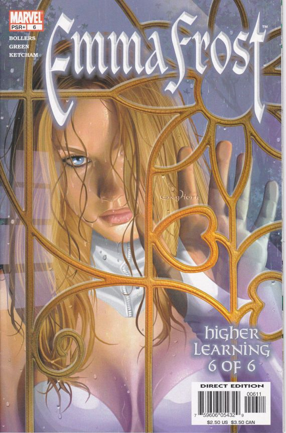 Emma Frost: Higher Learning 6 February Issue  by ViewObscura