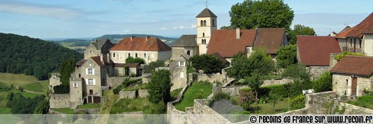 Château Chalon, Jura, France