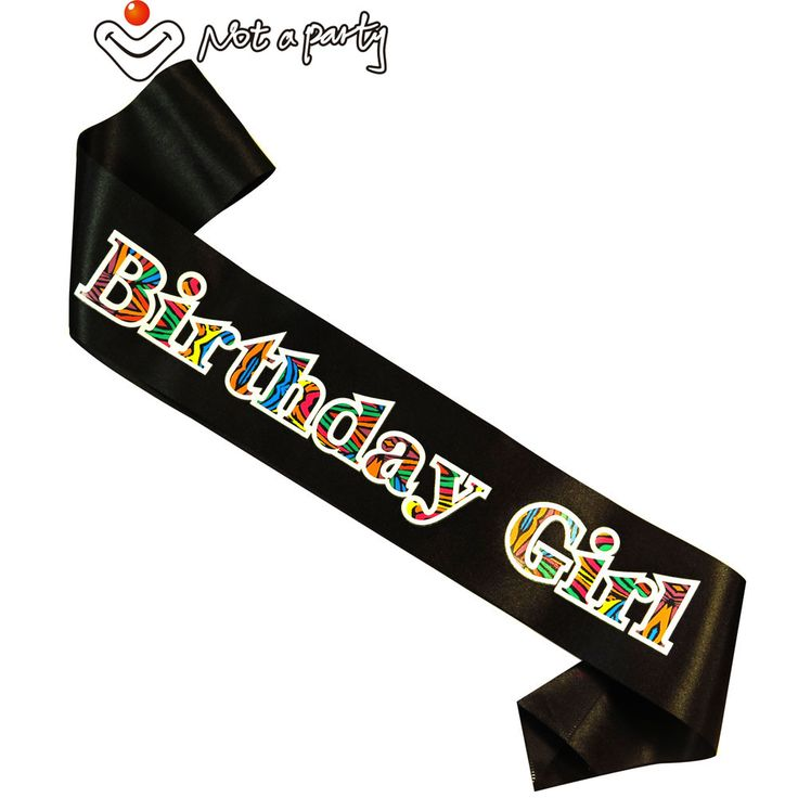 Black Fun Birthday party sash 50% off for 3pcs 21 30 40 50 60 happy brithday for woman man ribbon fun event party supplies #Affiliate