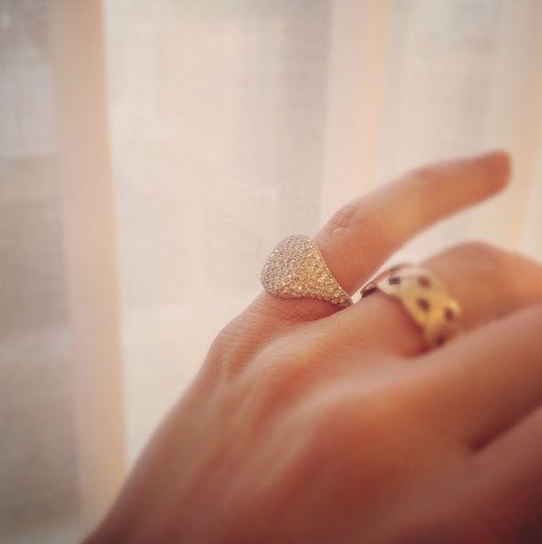 David Yurman Pave Pinkie Ring Sparkles Pinterest