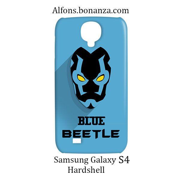 Blue Beetle Superhero Samsung Galaxy S4 S IV Hardshell Case