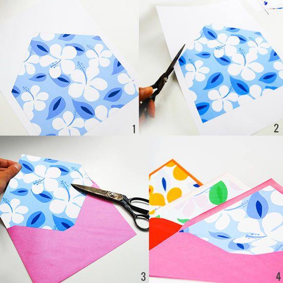 DIY Printable Envelope Liners