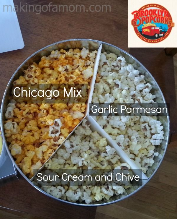 Fun Flavors from Brooklyn Popcorn +  Giveaway