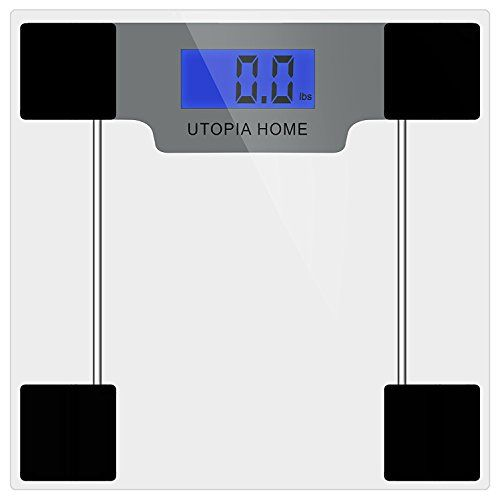 Clear Digital Glass Bathroom Scale With Thick Tempered Glass Utopia Home  Clear * Continue To The Product At The Image Link.