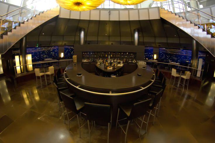 #Barra central del #Restaurante Submarino. #Oceanografic #Valencia www.restaurantesubmarino.es