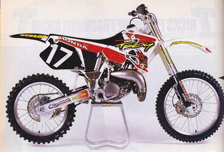 Mike Craig Honda CR 125 cc. 1996