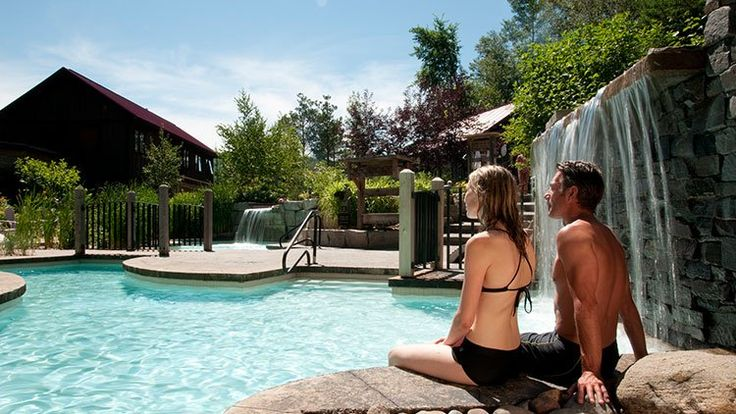 Scandinave Spa.  Ontario Spa Hotels & Packages   Blue Mountain Resort
