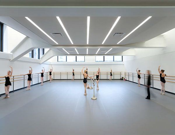 School of American Ballet on Architecture Served