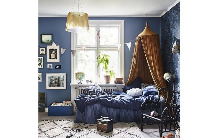 Come arredare una casa mixando lo stile vintage, quello moderno e anche il 'classico' con un colore molto speciale