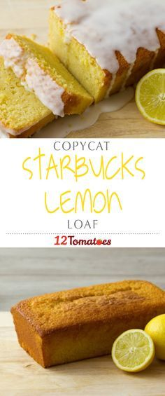 Copycat Starbucks Lemon Loaf | We've got a recipe that we think most closely matches Starbucks citrusy loaf…it's bright and zesty and the icing ties everything together.