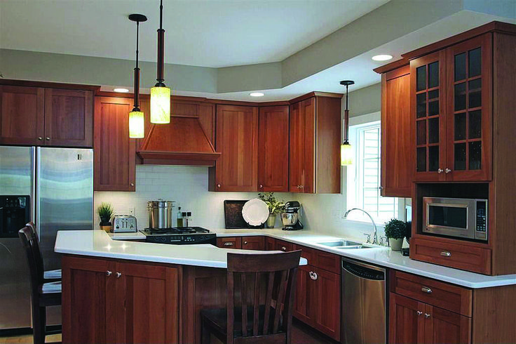 Latest are cherry kitchen cabinets expensive for 2019 ...