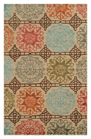 Rizzy+Home+Starburst+Medallions+Hand+Tufted+Area+Rug+available+at+#Nordstrom