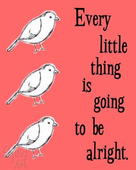 """Three Little Birds,"" Bob Marley"