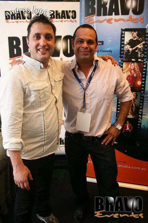 Andres Lopez Australian Tour Sydney 2011