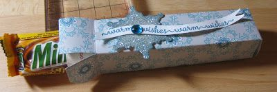 Chocolate Bar Holder with Envelop Punch Board frenchiestamps.com