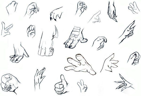 how to draw arms and hands