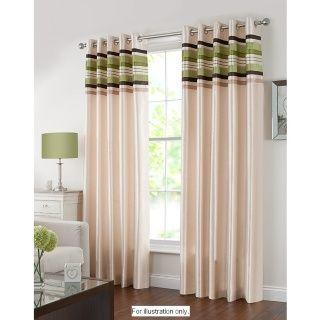 St Tropez Pleat Eyelet Curtains 46
