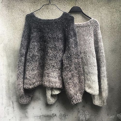 Color Rain Sweater pattern by Pernille Larsen