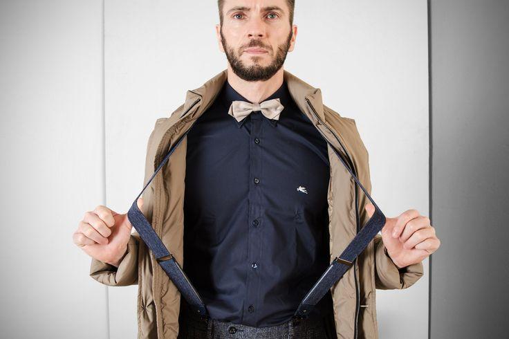 #rionefontana #Journal #fashion #social #blog #TheWaiting #moda#uomo #man #camicia #shirt #Etro #Milano #bretelle #braces #RioneFontana #papillon #bowtie #jacket #giubbotto #Fay #cool #trendy #chic #shopping #shop #online #instore #Treviso #Mestre #Montebelluna