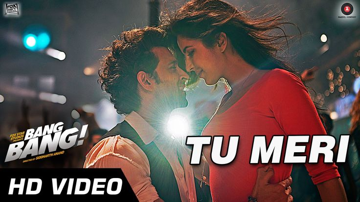 Presenting the Official Video of 'TU MERI' from the most awaited movie #BANGBANG! starring #HrithikRoshan and #KatrinaKaif directed by Siddharth Anand.