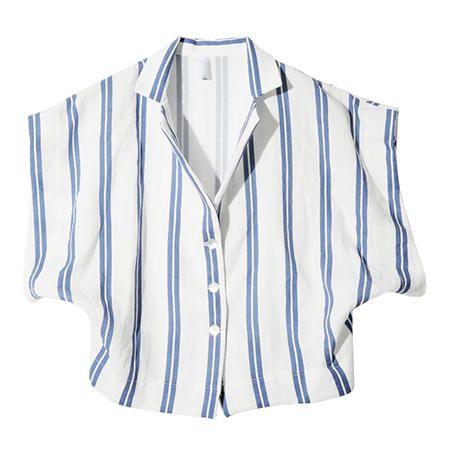 Twin Striped Shirt (Navy)   STYLENANDA